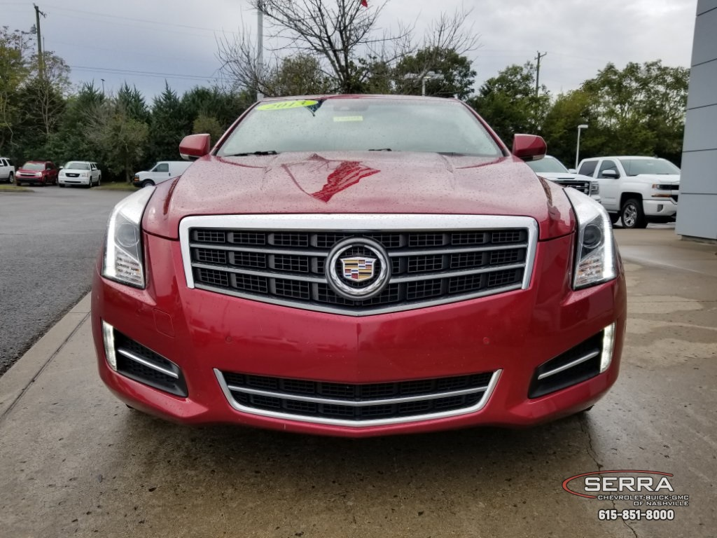 Pre Owned 2013 Cadillac Ats 36l Premium 4d Sedan In Madison 1951 Paint Colors