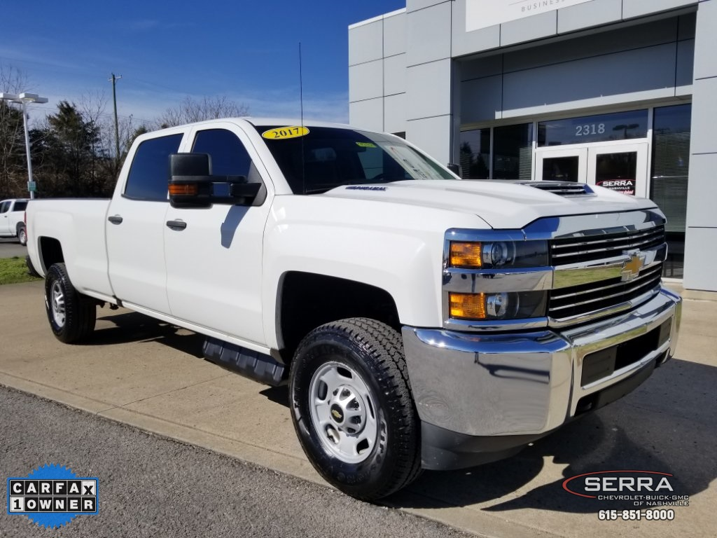 Pre Owned 2017 Chevrolet Silverado 2500hd Work Truck