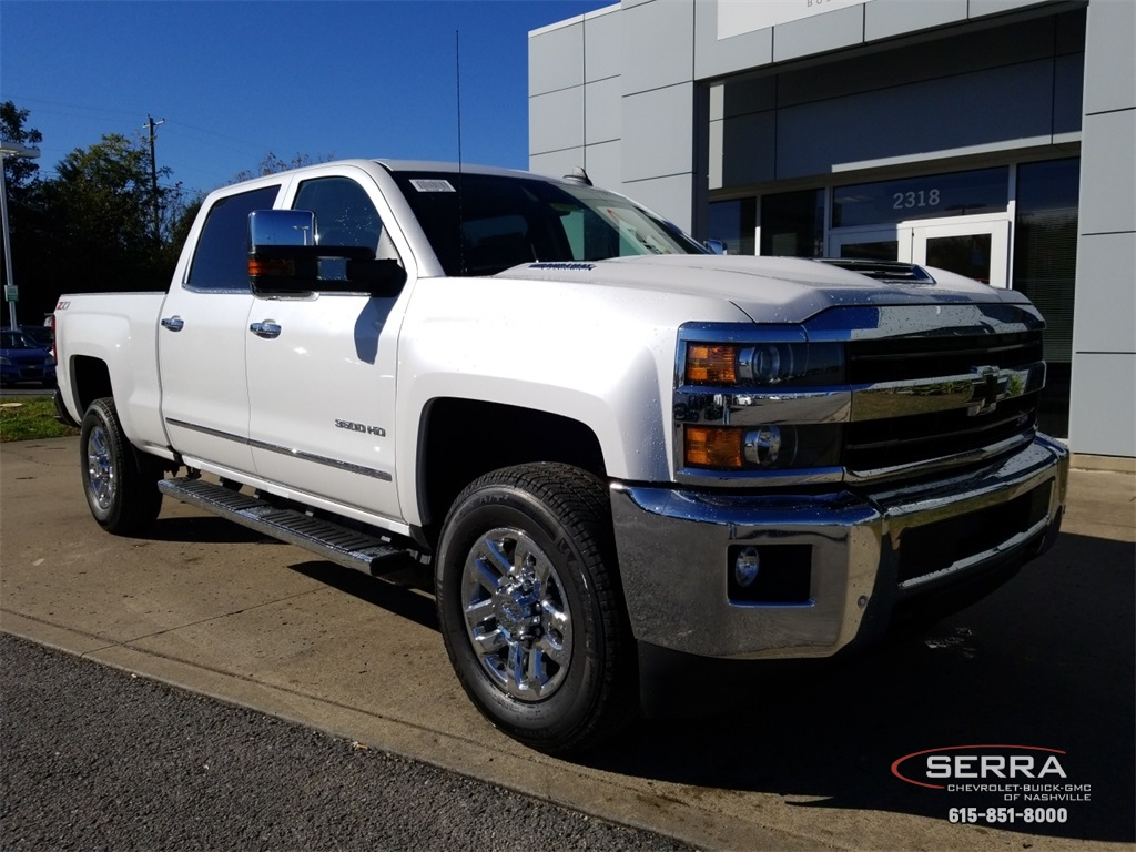 New 2019 Chevrolet Silverado 3500HD LTZ 4D Crew Cab in ...