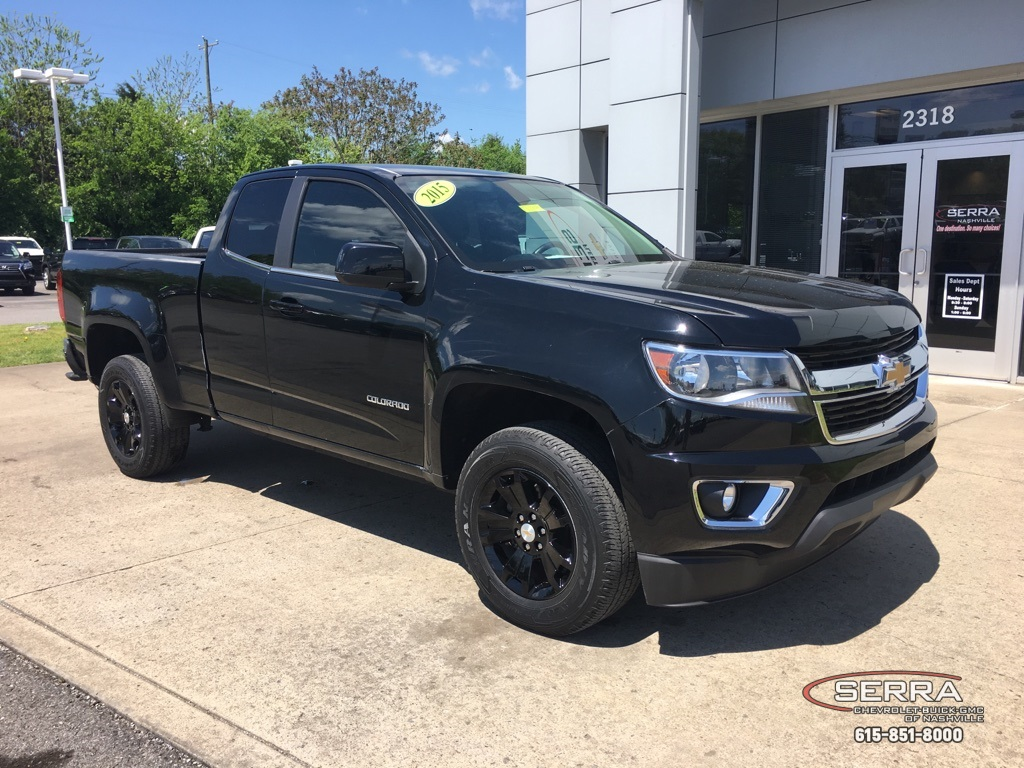 Certified Pre-Owned 2015 Chevrolet Colorado LT RWD Truck Extended Cab