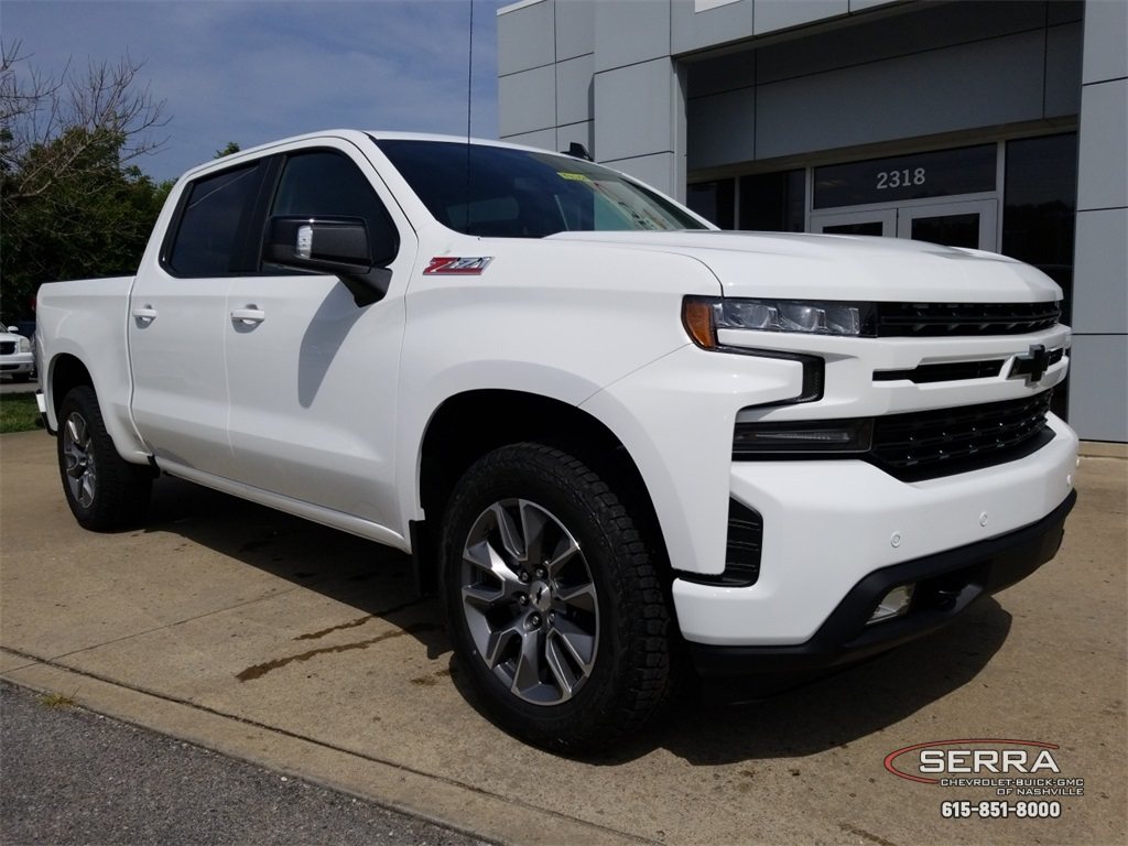 New 2019 Chevrolet Silverado 1500 Rst 4d Crew Cab In Madison T92184