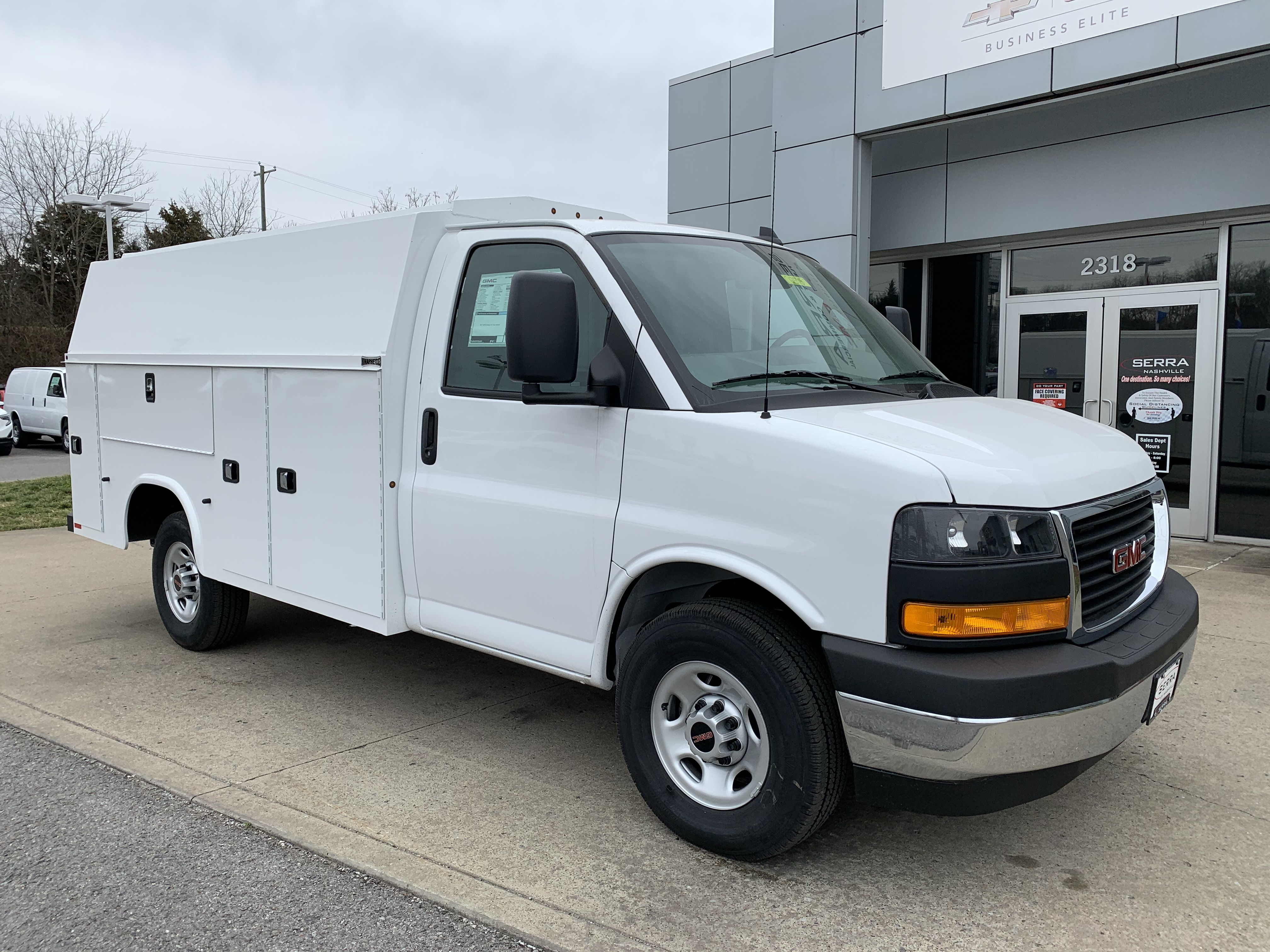 New 2021 GMC Savana 3500 Work Van