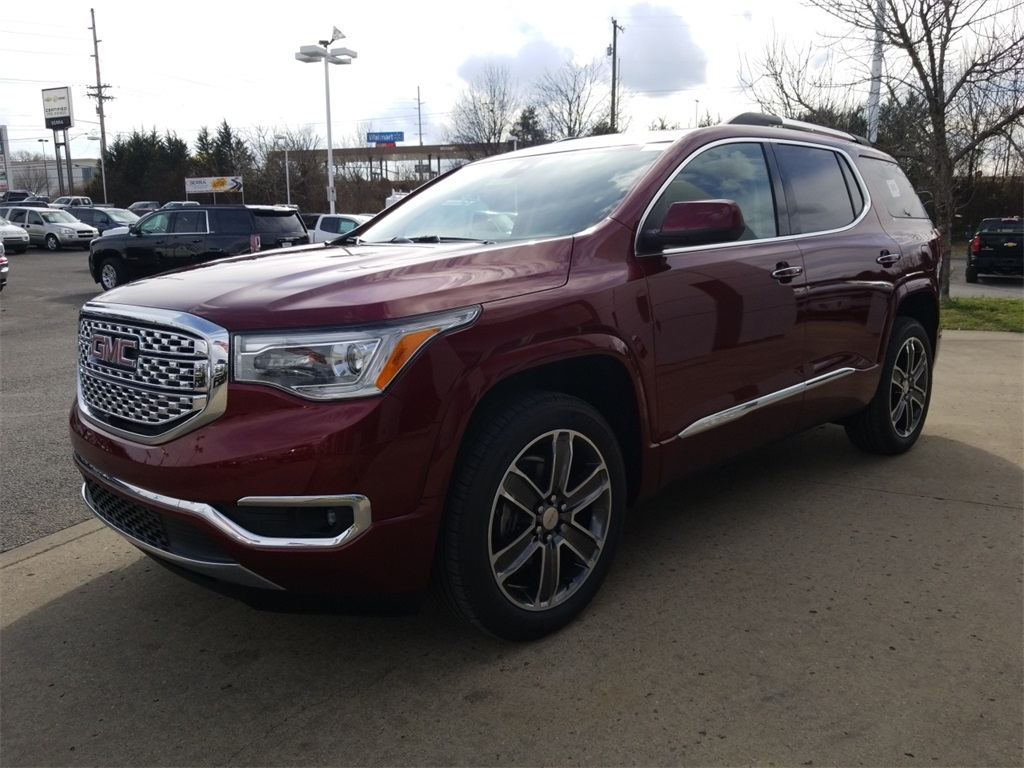 denali acadia review about exterior given the slt gmc cars truth