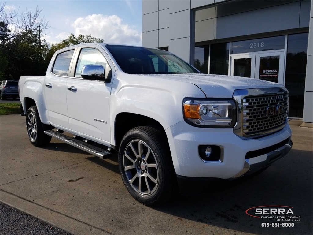 New 2019 Gmc Canyon Denali 4d Crew Cab In Madison G92465 Serra