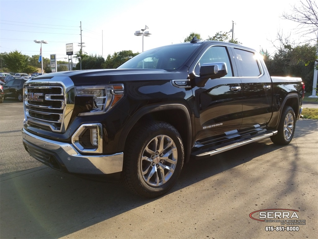 New 2019 Gmc Sierra 1500 Slt 4d Crew Cab In Madison G92309 Serra 1986 Chevy Truck Reverse Switch