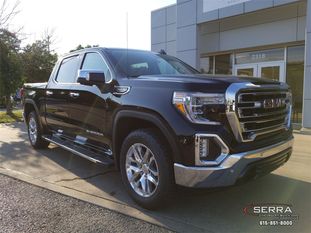 New 2019 Gmc Sierra 1500 Slt 4d Crew Cab In Madison G92309 Serra Dual Battery Kit
