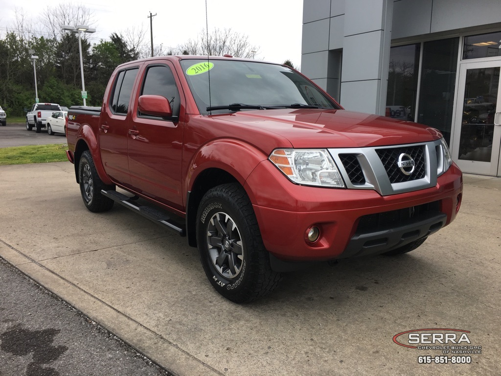 Pre-Owned 2016 Nissan Frontier PRO
