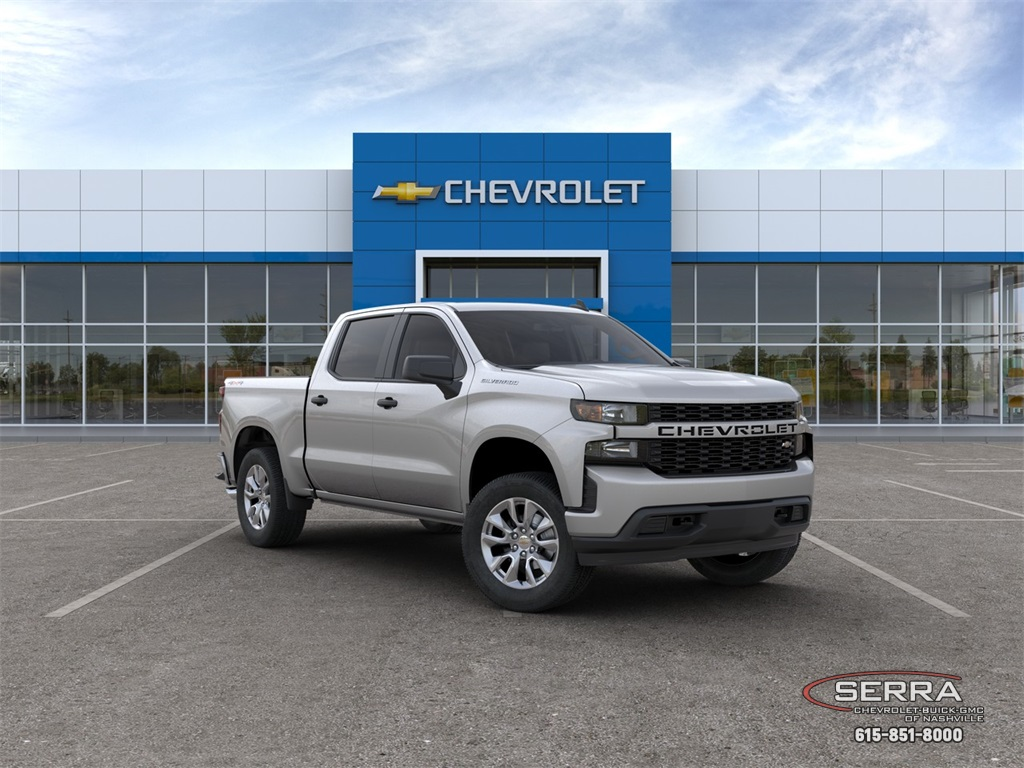New 2020 Chevrolet Silverado 1500 Custom