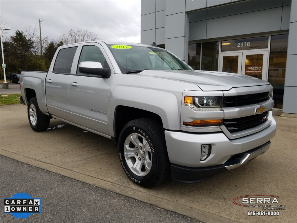 Certified Pre Owned 2017 Chevrolet Silverado 1500 Lt 4d Crew Cab In