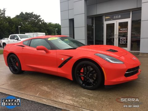 Certified Pre-Owned 2017 Chevrolet Corvette Stingray Z51
