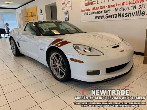Pre-Owned 2007 Chevrolet Corvette Z06 Ron Fellows Special Edition