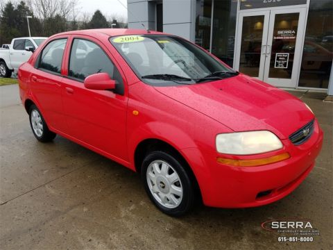 Pre-Owned 2004 Chevrolet Aveo LS